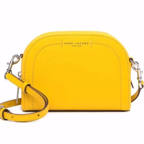 9c26cc2f39 Marc Jacobs Playback Yellow Crossbody Bag